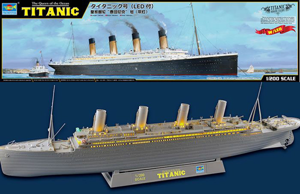 Trumpeter RMS Titanic 1:200