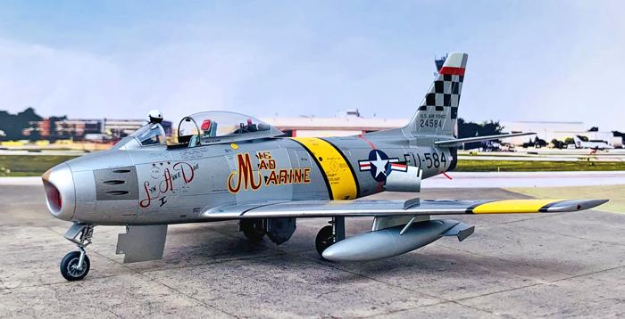 Hasegawa F-86F-30 Sabre US Air Force 1:48