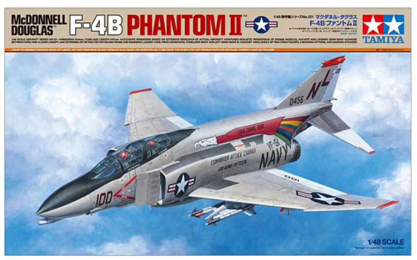 Tamiya  McDonnell Douglas F-4B Phantom II