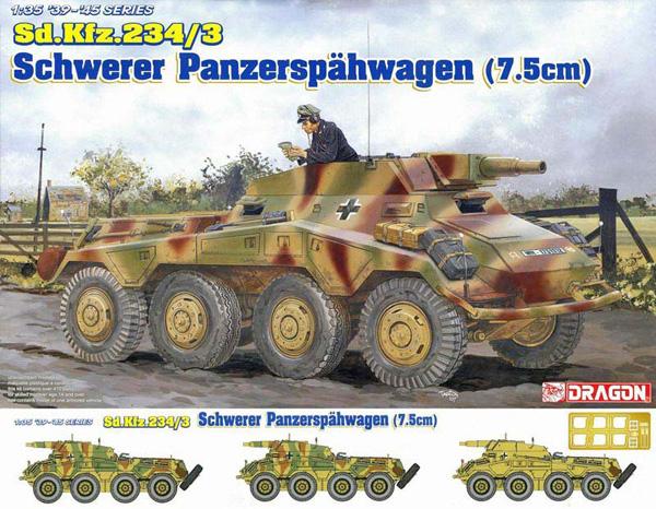 Dragon/DML Sd.Kfz 234/3 Armoured Car 1:35
