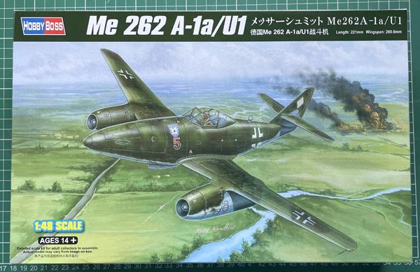 HobbyBoss  Messerschmitt Me 262A-1a/U1 1:48