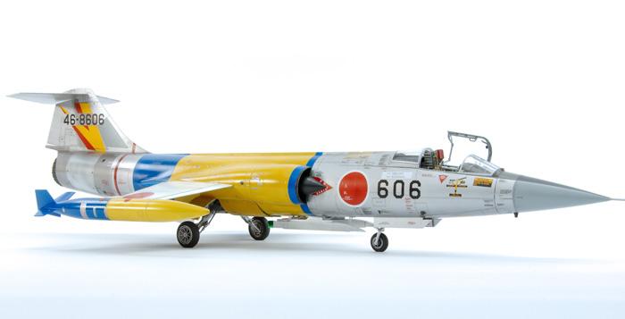 Kinetic Mitsubishi F-104J Starfighter 202 Sqn JASDF 1:48