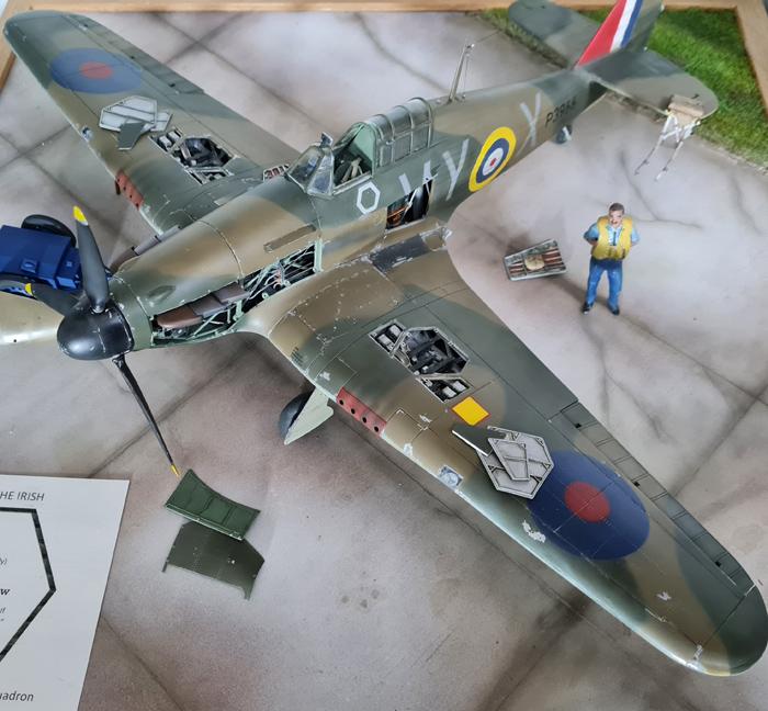 Airfix Hawker Hurricane Mk.I Group Captain Hemmingway 1:24