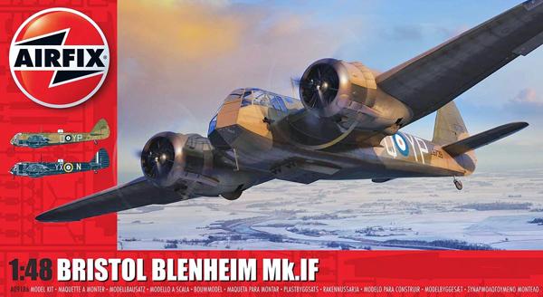 Airfix Bristol Blenheim Mk.1, 1:48