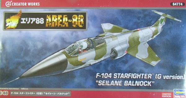 Hasegawa Lockheed F104G conversion