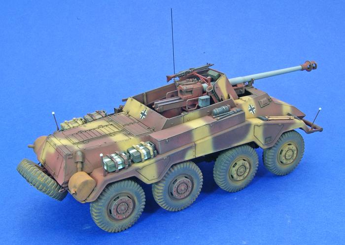 Sd.Kfz.234/4 Panzerspähwagen Armoured Car 1:35